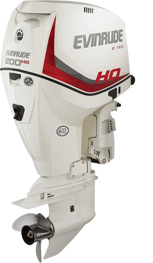 Evinrude e tec high output 200 h o e200dhx 2016 new for E tec outboard motors for sale