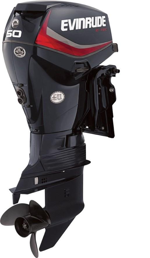 Evinrude e tec inline 50 hp e50dpgl 2016 new outboard for Used evinrude boat motors for sale