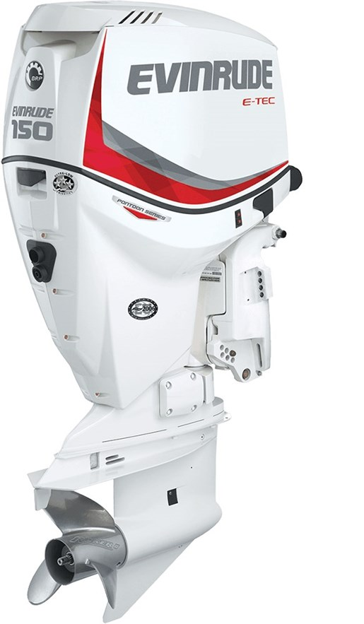 Evinrude e tec pontoon series 150 hp e150snl 2016 new for Evinrude outboard jet motors for sale