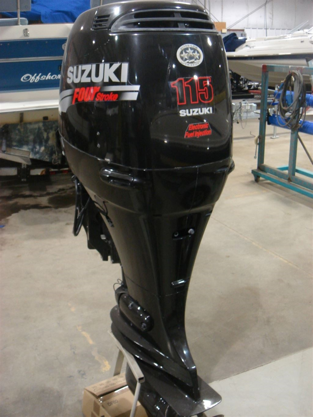 Suzuki Df115atx 2008 Used Outboard For Sale In Ayr