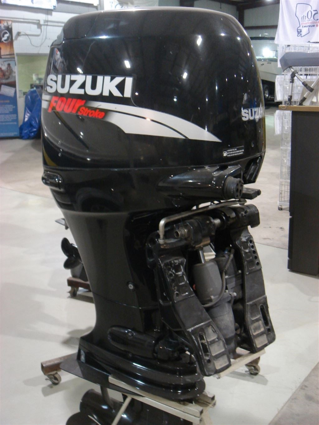 Suzuki df115atx 2008 used outboard for sale in ayr for Suzuki outboard motor dealers
