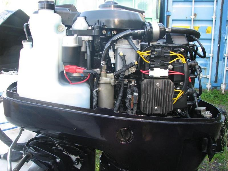 Tohatsu tldi series md75 2014 used outboard for sale in for Tohatsu boat motors for sale
