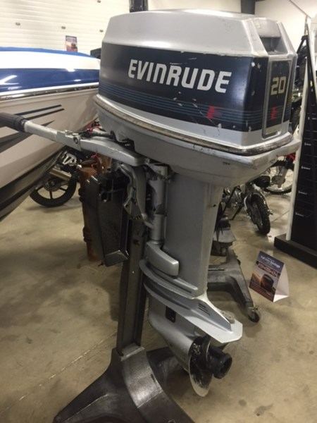 Evinrude 20 hp 1988 used outboard for sale in sarnia for 40 hp evinrude outboard motor for sale