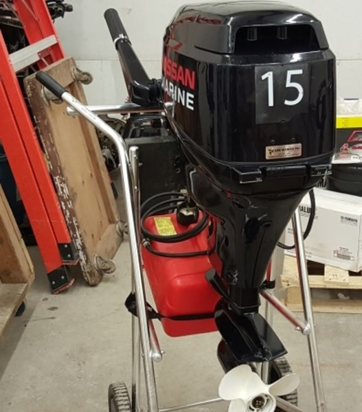 Nissan Nsf15b2ef1 2008 Used Outboard For Sale In Carp