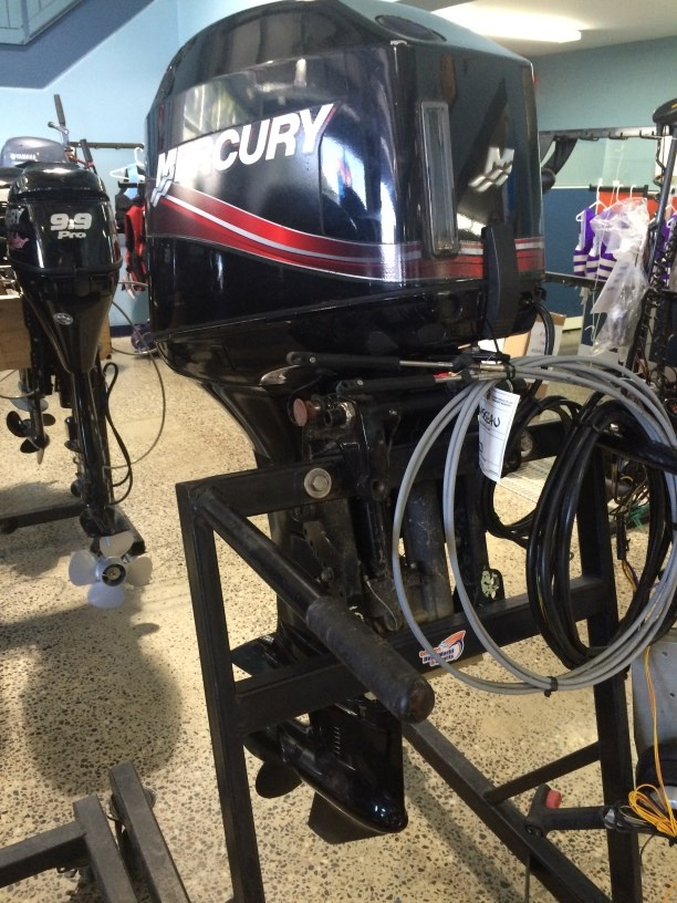 Mercury 50 hp 2008 used outboard for sale in ottawa for Mercury outboard jet motors for sale