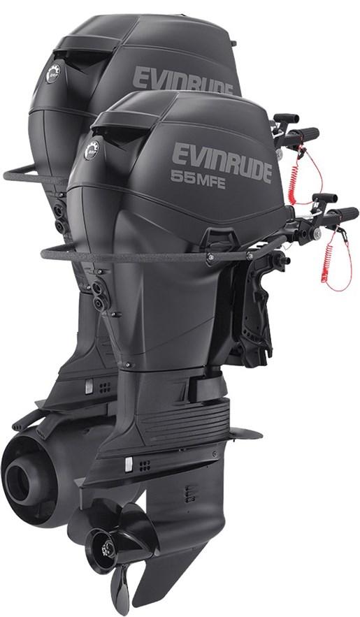 Evinrude multi fuel 55 hp e55mrl 2016 new outboard for for Evinrude outboard jet motors for sale