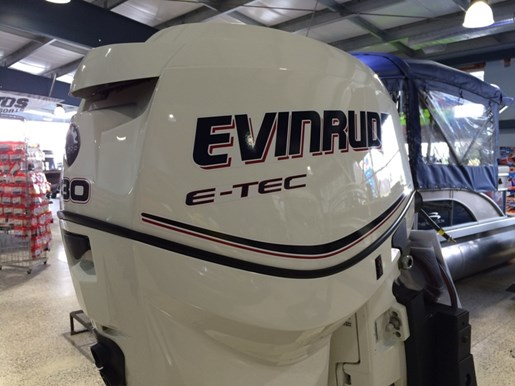 "2013 Evinrude E130DPX - 130HP White, 25"" Shaft Photo 3 of 4"