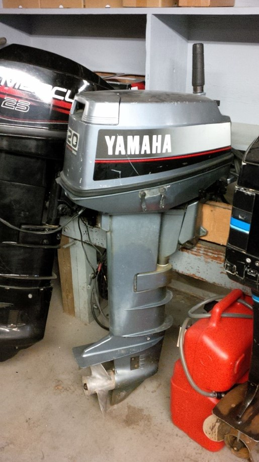 1988 Yamaha 20 ELG Photo 1 of 3