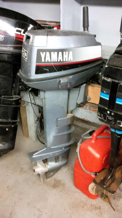 1988 Yamaha 20 ELG Photo 3 of 3