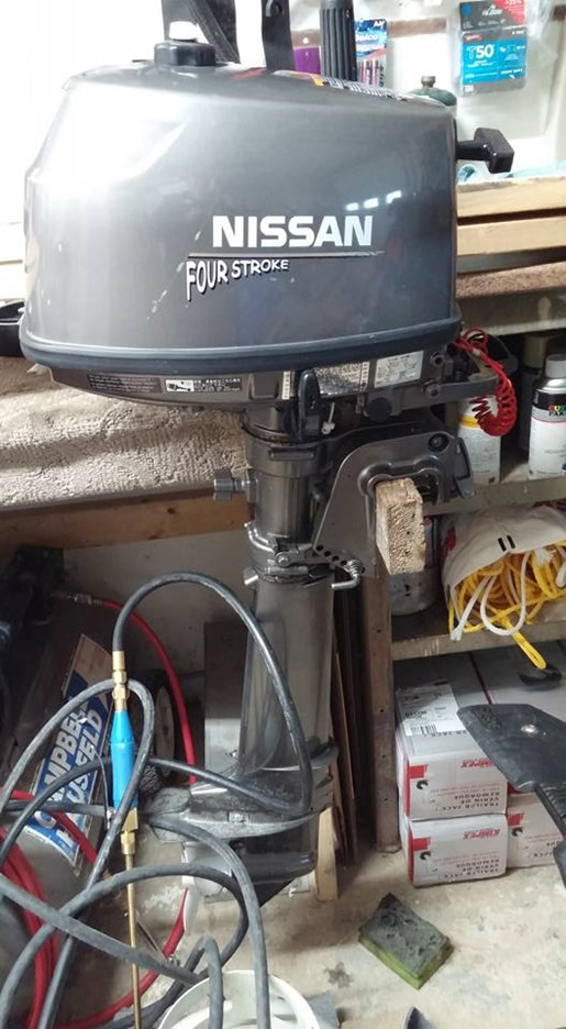 Nissan honda 8 hp long shaft 9 9 short shaft 2006 used for Honda outboard motors for sale used