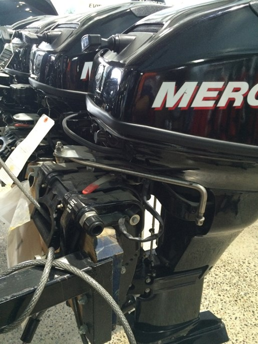 2012 Mercury FourStrokes 20 HP - 20 in. Shaft Photo 2 of 3