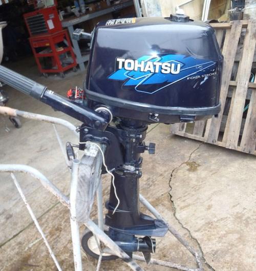2014 Tohatsu Manual Short shaft Photo 1 of 2