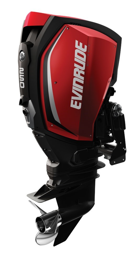 evinrude e tec g2 250 hp a250x 2017 new outboard for