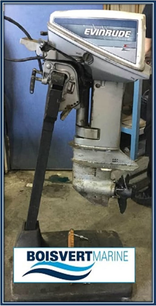 Evinrude 15 HP 1985 Used Outboard for Sale in Sorel Tracy, Quebec -  OutboardDealers ca