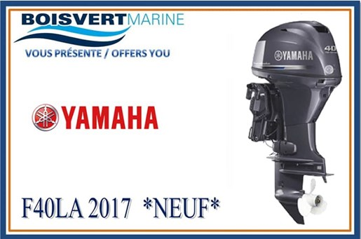 Yamaha f40la 2017 new outboard for sale in sorel tracy quebec for Yamaha dealers in louisiana