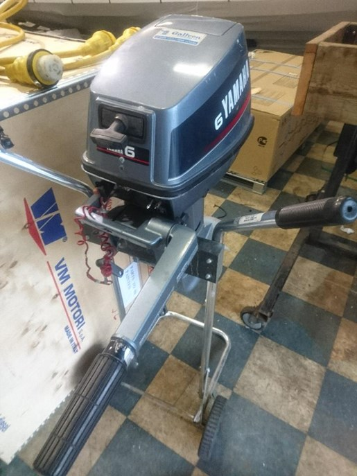 Yamaha 6hp 1998 used outboard for sale in port moody for Yamaha outboard parts house
