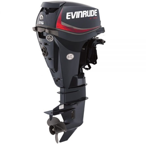 Evinrude 25dplse 2008 new outboard for sale in owen sound for Outboard motor for sale ontario