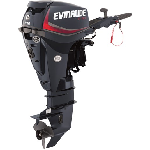 Evinrude 25 dgel 2010 new outboard for sale in owen sound for Outboard motor for sale ontario