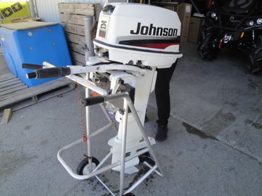 Johnson 25hp 2 stroke 1998 used outboard for sale in for New johnson boat motors for sale