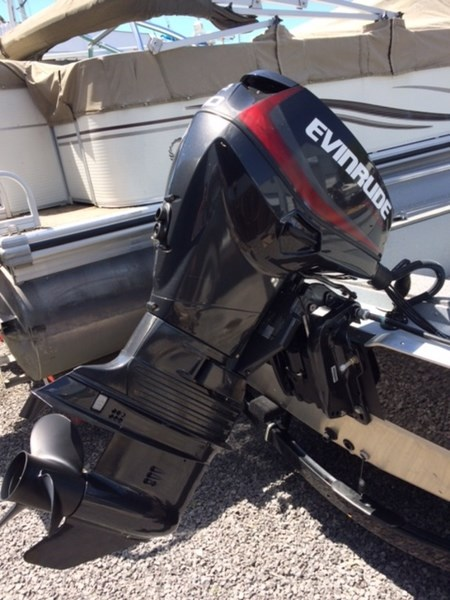 Evinrude inline 40 hp e40dpgl 2016 used outboard for sale for Outboard motor for sale ontario