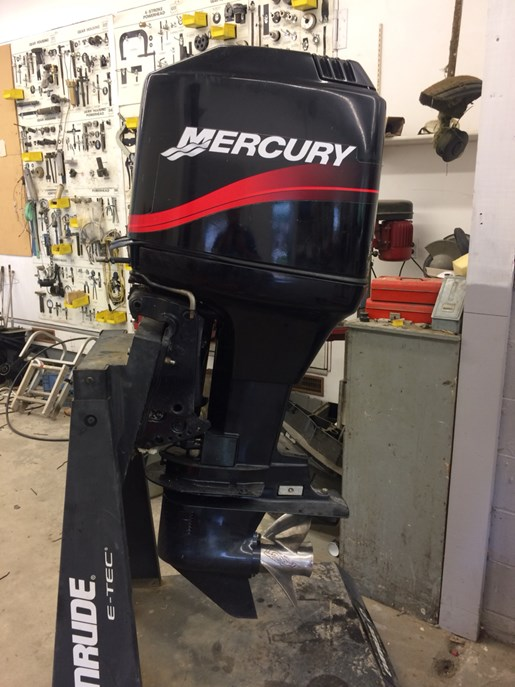 mercury 125elpto parts only 2002 used outboard for sale