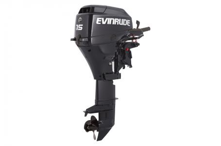 "2016 Evinrude E15RG4AB 15 HP TILLER ROPE 15"" SHAFT Photo 1 of 1"