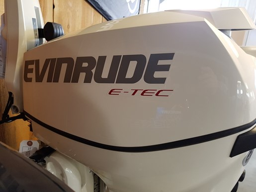 2018 Evinrude E-TEC 15 H.O. E15HTSL White Photo 3 of 8