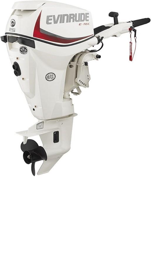 Evinrude e tec inline 25 hp e25dtsl 2018 new outboard for Outboard motor for sale ontario