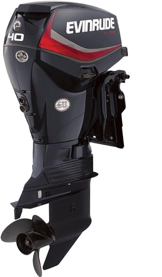Evinrude e tec inline 40 hp e40dpgl 2018 new outboard for E tec outboard motors for sale