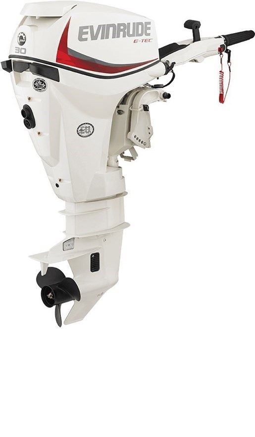 2018 Evinrude E-TEC Inline 30 HP - E30DRSL Photo 1 sur 1