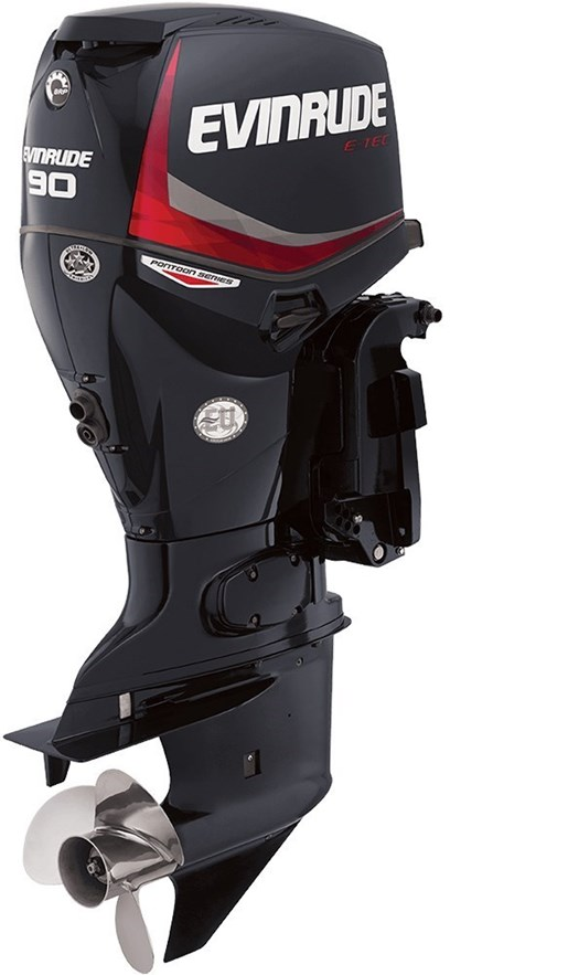 2018 Evinrude E-TEC Pontoon Series 90 HP - E90GNL Photo 1 of 1