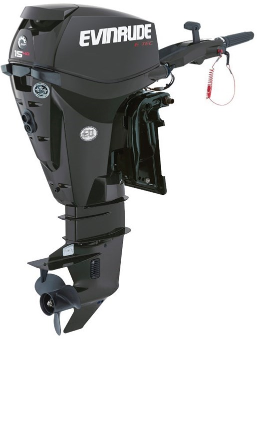 Evinrude e tec high output 15 h o e15hpgl 2018 new for Evinrude outboard jet motors for sale
