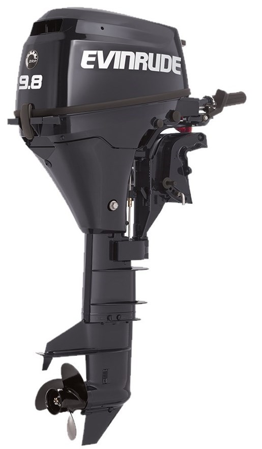 Evinrude portable 9 8 hp e10rg4 2018 new outboard for for 10 hp outboard jet motor