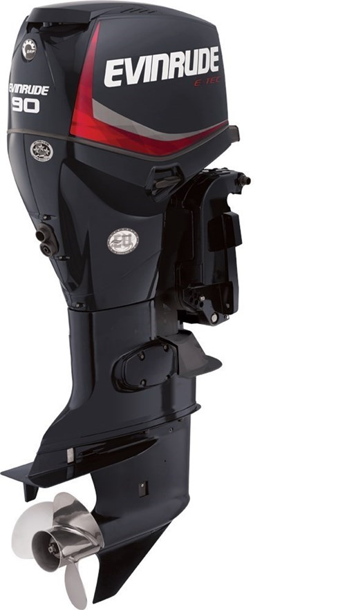 2018 Evinrude E-TEC Inline 90 HP - E90DPGL Photo 1 sur 1