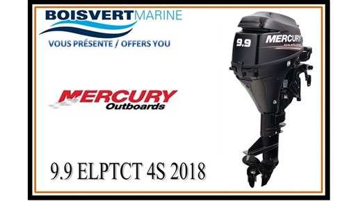 2018 Mercury 9.9 ELPT CT 4S Photo 1 of 3