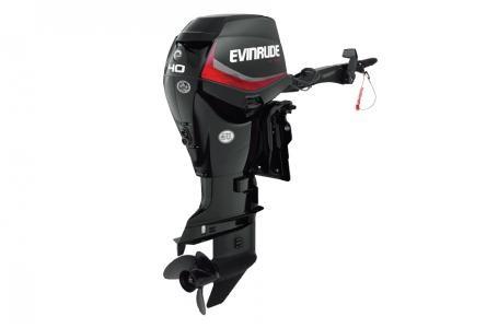 Evinrude 40 hp e40dgtl graphite 2017 new outboard for for Evinrude 40 hp outboard motor for sale