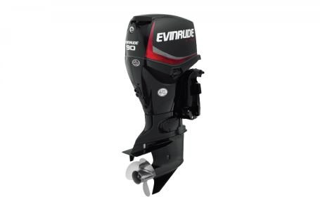 2017 Evinrude 90 HP - E90DGX Graphite Photo 1 of 2