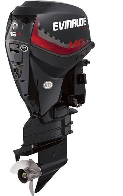 2018 Evinrude E-TEC High Output 115 H.O. - A115GHL Photo 1 sur 1