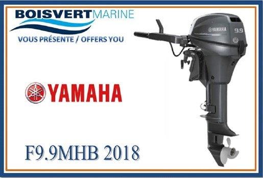 2018 Yamaha F9.9SMHB Photo 1 of 1