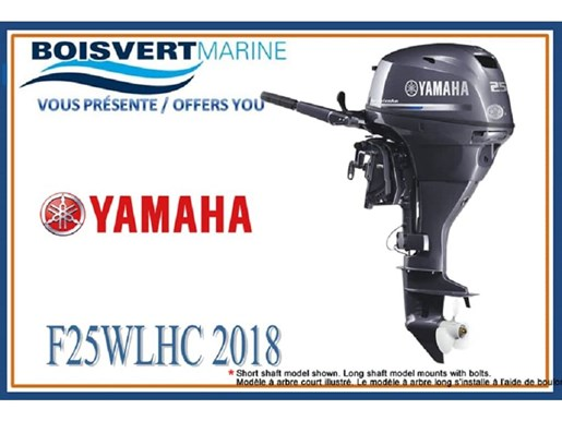 2018 Yamaha F25LWHC Photo 1 of 2