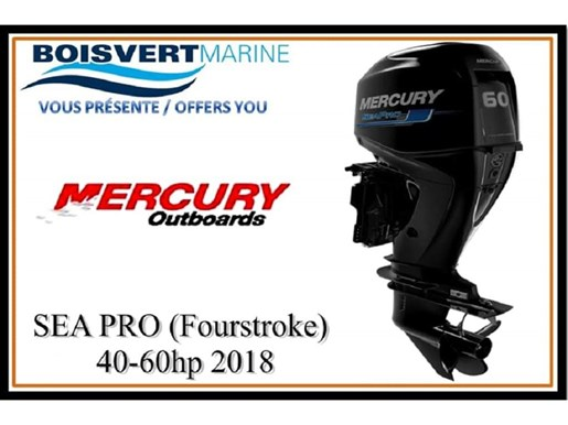 2018 Mercury SEA PRO (FourStroke) 40-60hp Photo 1 of 2