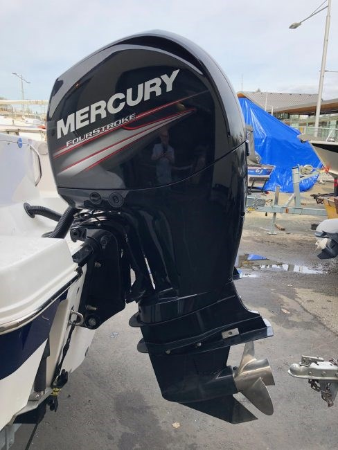 2013 Yamaha Mercury 150 XL complete with SS Prop controls cabl Photo 1 of 1