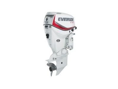 2018 Evinrude E-TEC 115 HP E115DSL White Photo 1 of 1