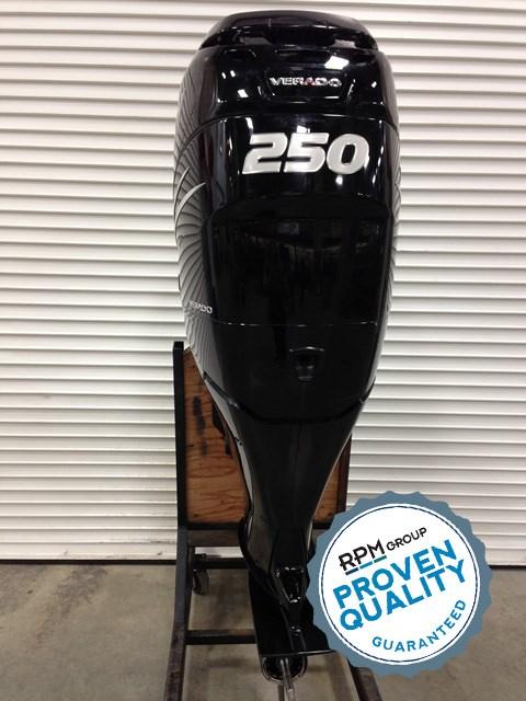 2013 Mercury 250XL Verado 4-Stroke Photo 1 of 4