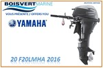 Yamaha 020 F20LMHA 2016