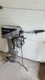 Evinrude 9.9 Electric Start 1988