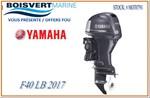 Yamaha F40 LA 2017