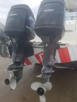 2000 Mercury TWIN OPTIMAX 225 XL CXL DFI SW EXTRA LONG STAINLES