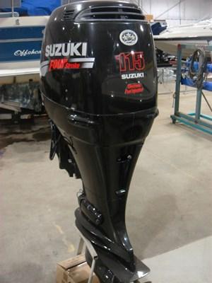 Suzuki DF115TX - PRICE INCLUDES ALL NEW RIGGING 2008