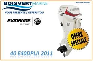 Evinrude 040 E40DPLII 2011